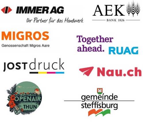 Logos-Hauptsponsoren